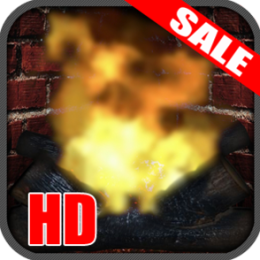 Relaxing and Romantic Virtual Fireplace App (Nook HD Edition)