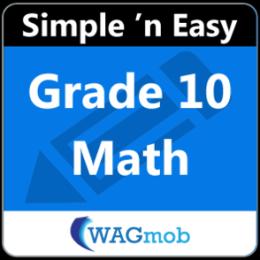 Grade 10 Math by WAGmob