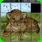 Magic Slide Puzzle - Wild Animals 1