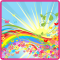 Rainbow Sun HD Live Wallpaper