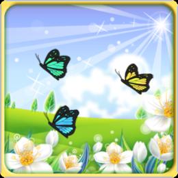 Butterfly Fields HD Live Wallpaper