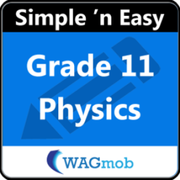 Grade 11 Physics by WAGmob