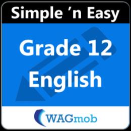 Grade 12 English by WAGmob
