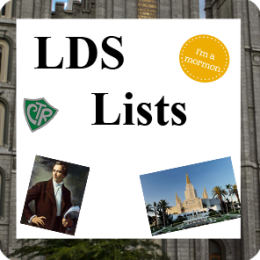 Lists for Mormons #1 (LDS)