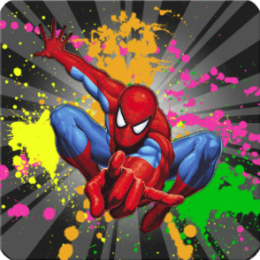 SpiderMan Painting
