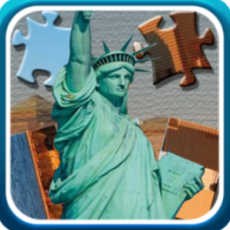 US Monuments and Landmarks jigsaw and Slider
