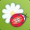 Ladybug Garden HD Live Wallpaper