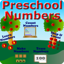 Preschool Numbers: 1 to 100