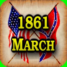 American Civil War Gazette - Extra - 1861 03 - March