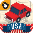 Product Image. Title: Geography Drive USA