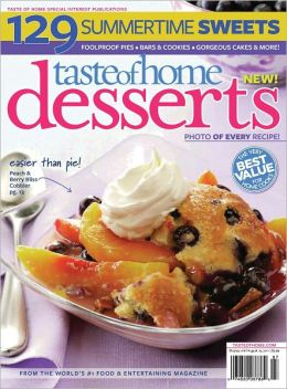 Taste of Home Desserts