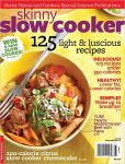 Book Cover Image. Title: Skinny Slow Cooker, Author: Meredith Corporation