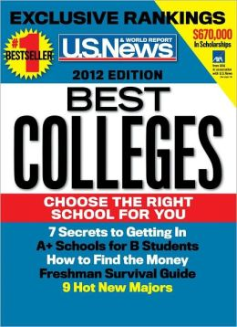 U.S. News and World Report Best Colleges 2012