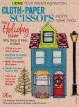 Book Cover Image. Title: Cloth Paper Scissors, Author: F+W Media