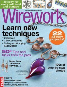 Art Jewelry's Wirework - Spring 2012