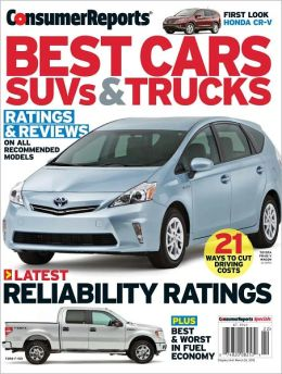 Consumer Reports' Best Cars, SUV's and Trucks 2012