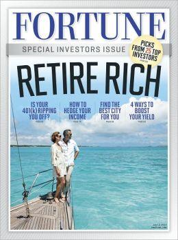 Fortune's Retirement Guide 2012