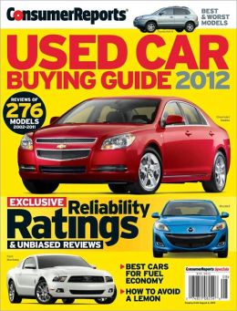 Consumer Reports' Used Car Buying Guide 2012