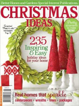 Better Homes and Gardens' Christmas Ideas 2012 by Meredith ...