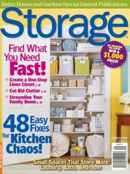 Better Homes and Gardens' Storage - Fall and Winter 2012
