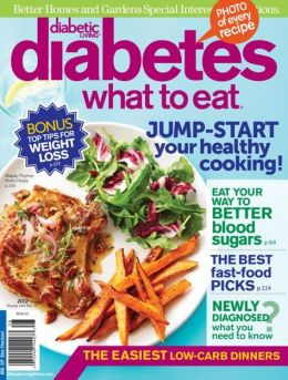Better Homes and Gardens' Diabetes - What to Eat 2012