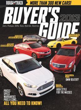 Road & Track - Buyer's Guide 2013