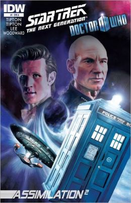 Star Trek The Next Generation/Doctor Who: Assimilation #1