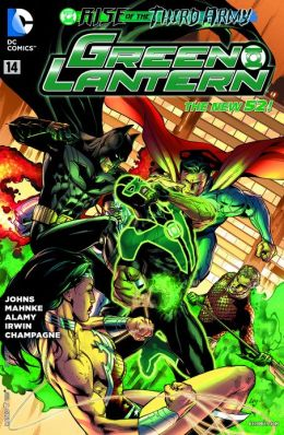 Green Lantern #14 (2011- ) (NOOK Comics with Zoom View)