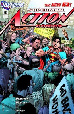 Action Comics #3 (2011- ) (NOOK Comics with Zoom View)