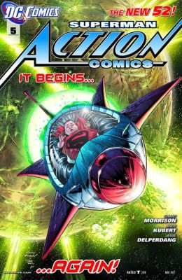 Action Comics #5 (2011- ) (NOOK Comics with Zoom View)