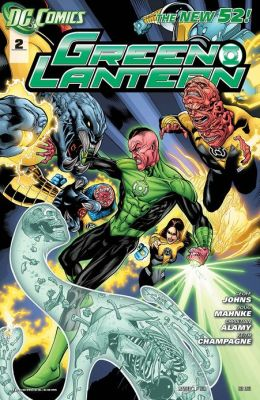 Green Lantern #2 (2011- ) (NOOK Comics with Zoom View)