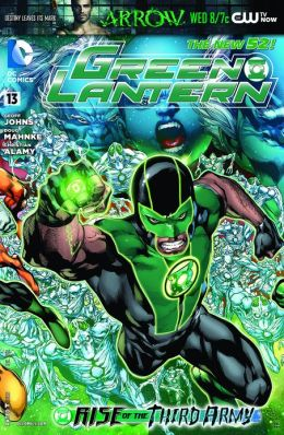 Green Lantern #13 (2011- ) (NOOK Comics with Zoom View)