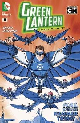 Green Lantern: The Animated Series #8 (NOOK Comics with Zoom View)