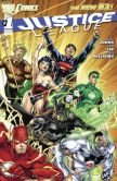 Book Cover Image. Title: Justice League #1 (2011- ) (NOOK Comics with Zoom View), Author: Geoff Johns