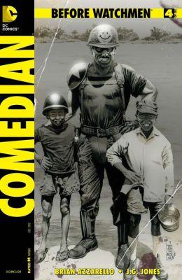 Before Watchmen: Comedian #4 (NOOK Comics with Zoom View)