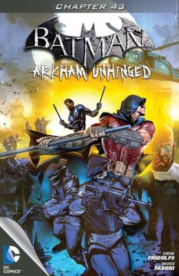 Batman: Arkham Unhinged #43 (NOOK Comics with Zoom View)