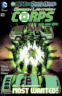Green Lantern Corps #15 (2011- ) (NOOK Comics with Zoom View)