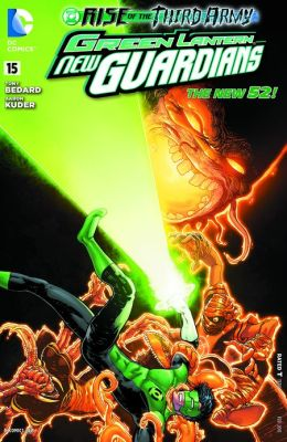 Green Lantern: New Guardians #15 (2011- ) (NOOK Comics with Zoom View)