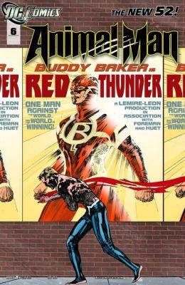 Animal Man #6 (2011- ) (NOOK Comics with Zoom View)