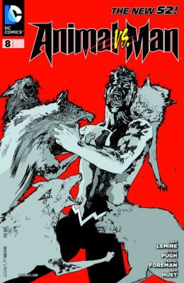 Animal Man #8 (2011- ) (NOOK Comics with Zoom View)