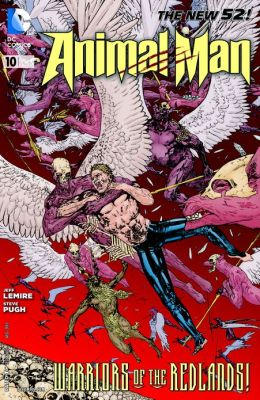 Animal Man #10 (2011- ) (NOOK Comics with Zoom View)