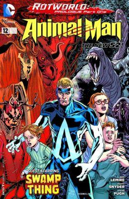 Animal Man #12 (2011- ) (NOOK Comics with Zoom View)
