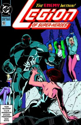 Legion of Super-Heroes #42 (1989-2000) (NOOK Comics with Zoom View)