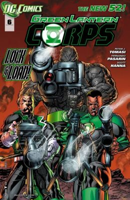 Green Lantern Corps #6 (2011- ) (NOOK Comics with Zoom View)