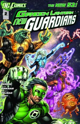 Green Lantern: New Guardians #2 (2011- ) (NOOK Comics with Zoom View)