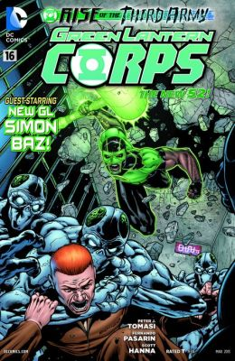 Green Lantern Corps #16 (2011- ) (NOOK Comics with Zoom View)