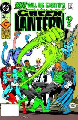 Green Lantern #25 (1990-2004) (NOOK Comics with Zoom View)