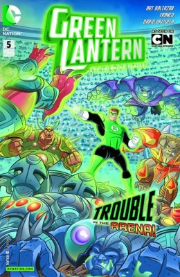 Green Lantern: The Animated Series #5 (NOOK Comics with Zoom View)