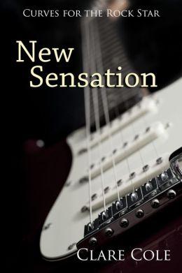 New Sensation (Curves for the Rock Star - A BBW Rockstar Erotic Romance)