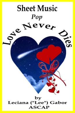 Sheet Music Love Never Dies